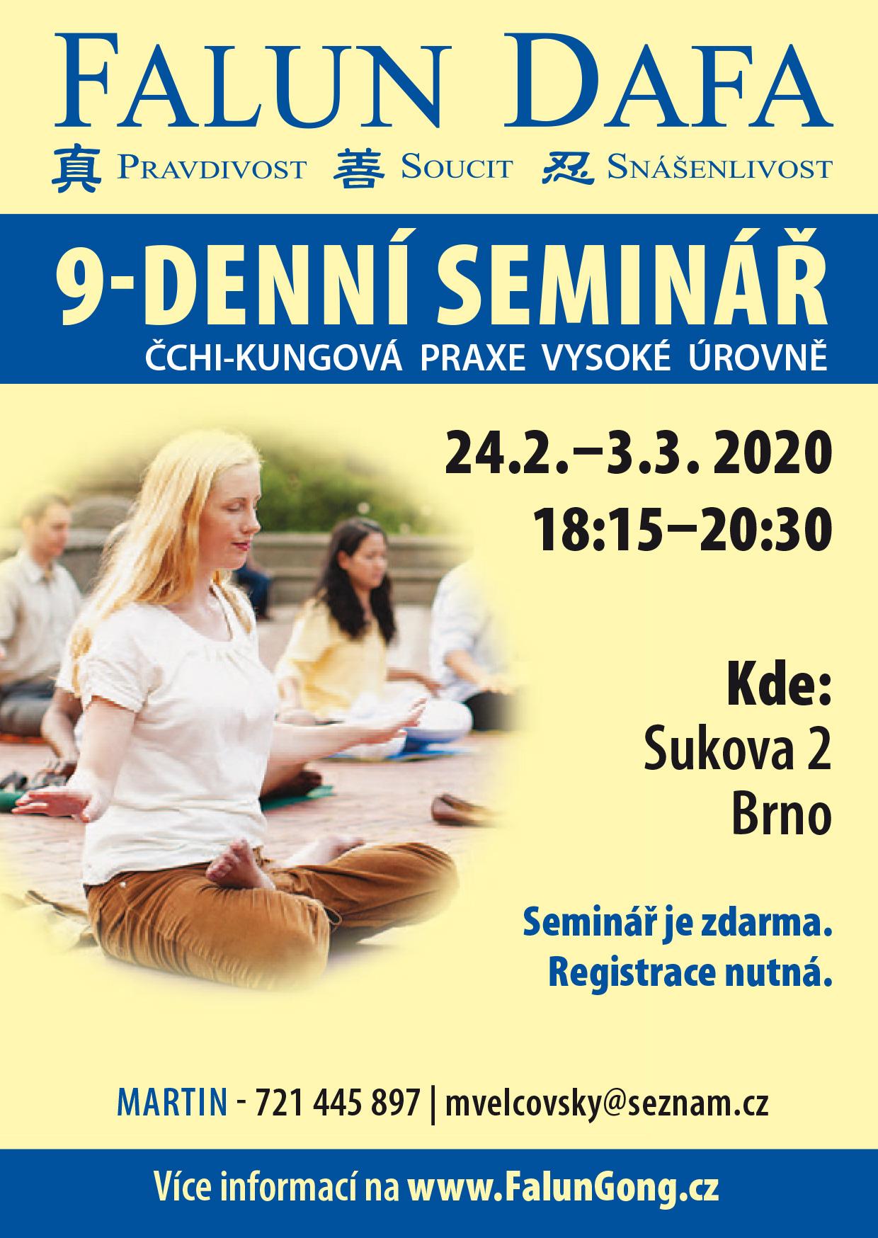 seminář Brno