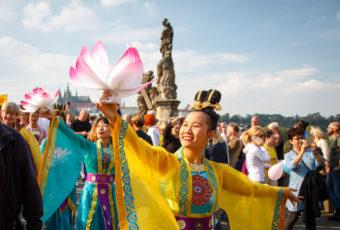 průvod Praha
